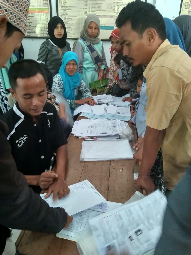 Pelayanan langsung (gempungan) di Desa Depok Kecamatan Darangdan