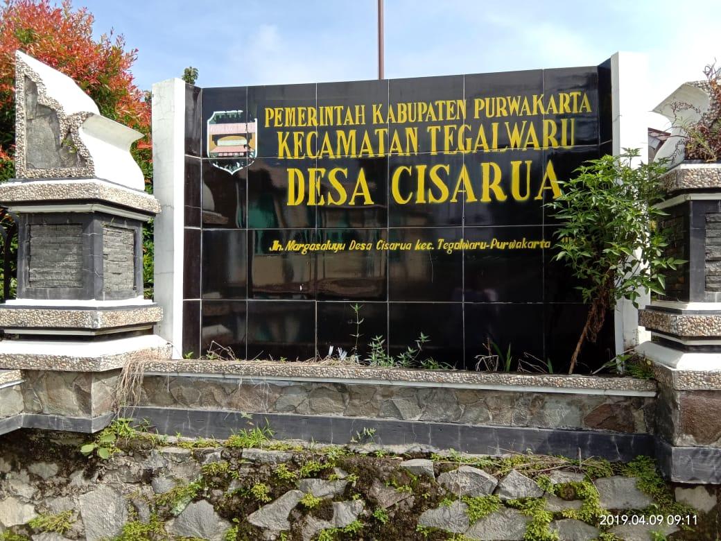 Pelayanan langsung (gempungan) di Desa Cisarua Kecamatan Tegalwaru
